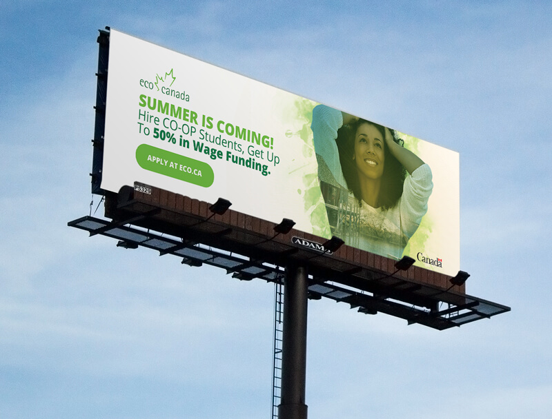 ECO Canada Billboard Design