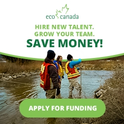 ECO Canada Internship Google Display Ad