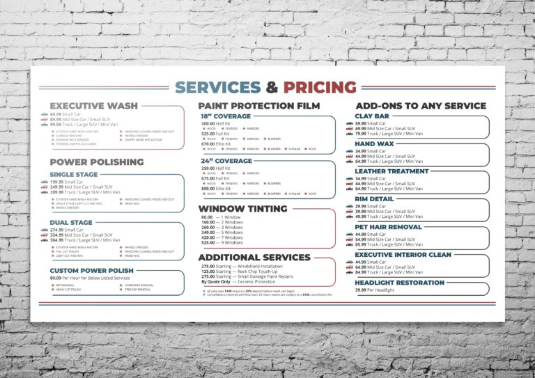 Dentologist Price List