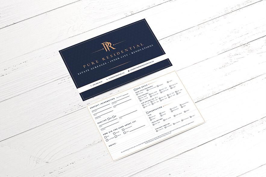 PURE Business Card Design