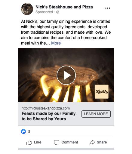 Nicks Facebook Ad 1