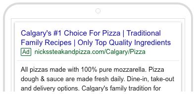 Nicks Google Search Ad 3