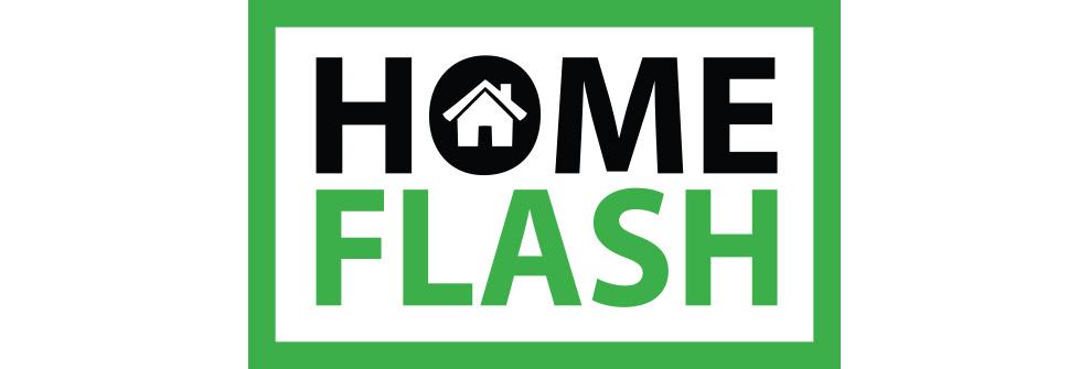 HomeFlash Logo Design