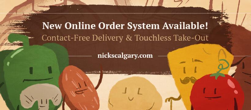 (Nick's) Food Friends Online Ordering Banner - FB V2